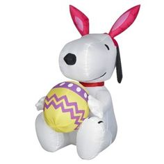 Image detail for -Easter Bunny Rabbit Snoopy Egg Inflatable Airblown | eBay