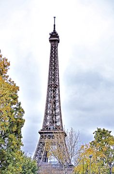 November 2012 Paris Trip - Had to have at least one picture of the Eiffel Tower.