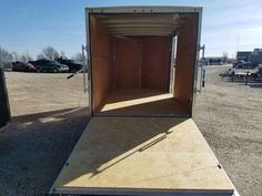 New 2016 H&H 2016 V-NOSE CARGO TRAILER ATVs For Sale in Iowa. RAMP DOOR, WALK DOOR, V-NOSE, LED LIGHTS!