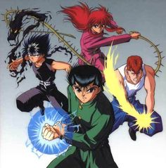 Yu Yu Hakusho my first anime love once I knew what counted as anime and what wasn't! Pokemon was the only one before this!