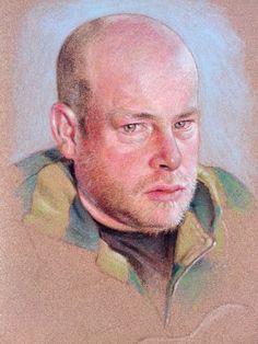 self portrait pastel painting Pastel Portraits, Painting, Art, Art Background, Painting Art, Kunst, Paintings, Gcse Art