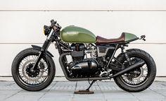 Los andaluces Macco Motors vuelven a la carga con su especialidad, las motos Triumph, esta vez una Truxton del 2007 transformada en Cafe Racer. Ya son vari