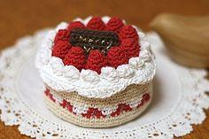 クロッシェ・パティシエのじっくりケーキ_かぎ針編み