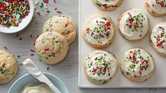 This new twist on cake-mix cookies will certainly bring tons of festive flavor and fun to your Christmas cookie exchange!