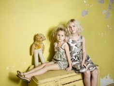 Monnalisa camouflage dresses at Mon Petit, kids fashion summer 2014