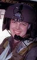 #82ndAirborneDivision via #82ndCombatAviationBrigade ........ Army Capt. Kimberly N. Hampton died January 2, 2004 serving during Operation Iraqi Freedom when her helicopter was shot down. In 2014, Hampton Elementary School on Fort Bragg was dedicated in her memory..... http://projects.militarytimes.com/valor/army-capt-kimberly-n-hampton/256982