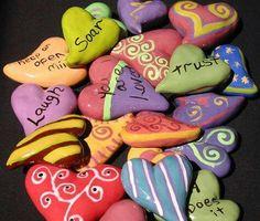 Polimide hearts