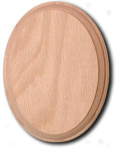Cheap Stair Parts - 7037 Oval Rosette, $3.50 (http://cheapstairparts.com/7037-oval-rosette/)