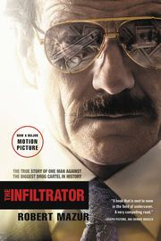 The Infiltrator | http://paperloveanddreams.com/book/357661143/the-infiltrator | The electrifying true story that inspired the major new motion picture The InfiltratorRobert Mazur spent years undercover infiltrating the Medellín Cartel's criminal hierarchy. The dirty bankers and businessmen he befriended-some of whom still shape power across the globe-knew him as Bob Musella, a wealthy, mob-connected big shot living the good life. Together they partied in $1,000-per-night hotel suites, d...