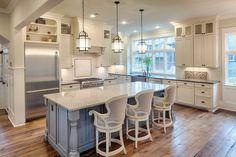 Farmhouse Style House Plan - 4 Beds 4.5 Baths 3238 Sq/Ft Plan #928-10 Interior - Kitchen - Houseplans.com