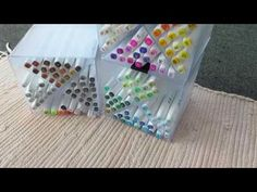 Alcoholmarker Storage | the X-Box Marker Storage, Xbox, Markers, Triangle, Make It Yourself, Crafty, Youtube, Sharpies, Marker