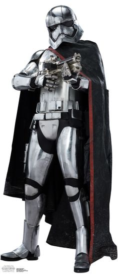 Advanced Graphics Captain Phasma Life Size Cardboard Cutout Standup - Star Wars Episode VII: The Force Awakens Star Wars Fan Art, Star Wars Vii, Star Wars Characters, Star Wars Episodes, Anniversaire Star Wars, Star Wars Personajes, Episode Vii, Images, Darth Vader