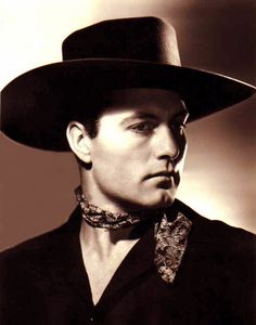 """George Montgomery's hats always seemed a little big for his head. He was a believable  """"good guy"""" but seemed greasy when he went villain."""