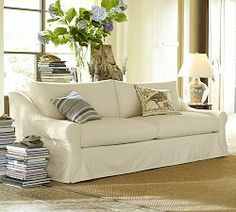 Deep Comfortable Sofas & Rolled Arm Chairs | Pottery Barn