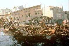 Oct 17,1989 San Francisco Earthquake. happend only in 15 seconds but caused the earth to move 18 feet apart.