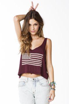 cute #summer top #usa  [$20.00]