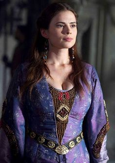 Hayley Atwell as Aliena in The Pillars of the Earth (TV Mini-Series, 2010).