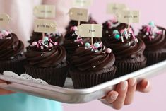 Chocolate Cupcakes anyone? Recipe in my baking book love Manuela Order my English baking book by clicking the link in my bio. We ship worldwide. Delicious Chocolate, Delicious Desserts, My Recipes, Dessert Recipes, Ganache Frosting, Sweet Like Candy, Cupcake Pans, Unsweetened Cocoa, Chocolate Cupcakes