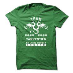 (Tshirt Cool Order) SPECIAL CARPENTIER Life time member Teeshirt this week Hoodies Tees Shirts