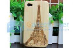 Apple iPhone 4 / 4S Wooden Protective Case (Style C)