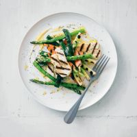 Halloumi with grille