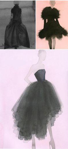 mats gustafson - fashion illustration