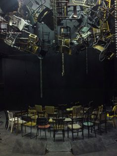 Set design, The Chairs
