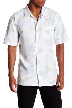 Short Sleeve Oceanside Woven Shirt
