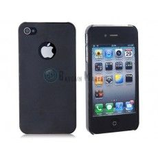 Stylish Ultra Thin TPU Protective Case for iPhone4/4s (Black)