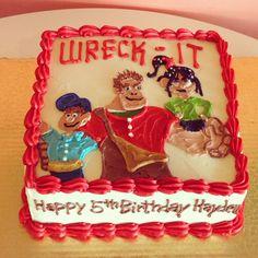Wreck-it Ralph Birthday Cake by 2tarts Bakery  New Braunfels, TX  www.2tarts.com