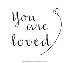 You are loved Bible Qoutes, Faith Quotes, Words Quotes, Best Quotes, Love Quotes, Inspirational Quotes, Hand Lettering For Beginners, Boxing Quotes, Quotes About Everything