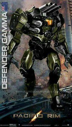 "Jaegar ""Defender Gamma"" United Kingdom"