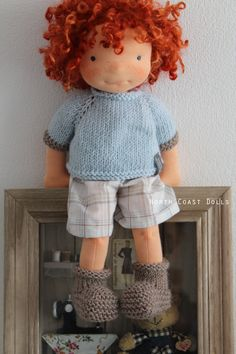 North Coast Waldorf-like doll - love the hair!