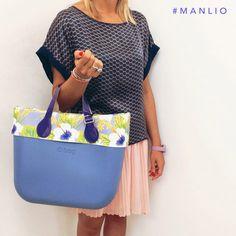 Kit bordi tropical+manici vernice per Obag €55  #manlioboutique  Per spedizioni: WhatsApp 329.0010906 #obag #fullspot #mare #sole