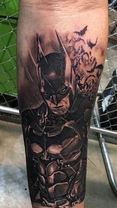 Made by Rember Orellana Tattoo Artists in Texas, US Region Insane Tattoos, Top Tattoos, Body Art Tattoos, Tattoo Drawings, Small Tattoos, Tattoos For Guys, Sleeve Tattoos, Batman Tattoo Sleeve, Tatoos
