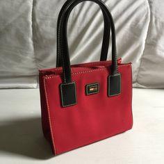 cherry red vintage tommy hilfiger mini bag  c1f60718e47a1