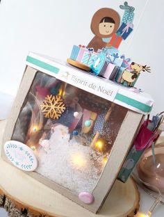 Boîte à explosion Noël - Le scrapauroreblog Scrapbooking, Children, Collection, Explosion Box, Young Children, Boys, Kids, Scrapbooks, Memory Books