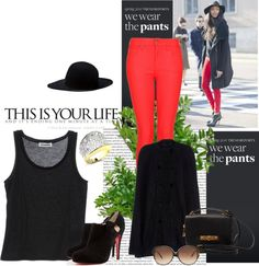 """""""Fashionable Red"""" by eternal-sparkles-stylist on Polyvore"""