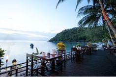 Salad Beach Resort, Haad Salad, Koh Phangan Our hotel
