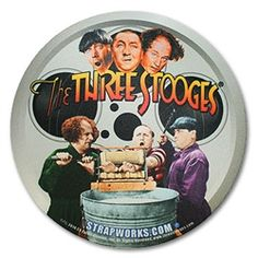 Pitcher Pad The Three Stooges. #ThreeStooges #Strapworks