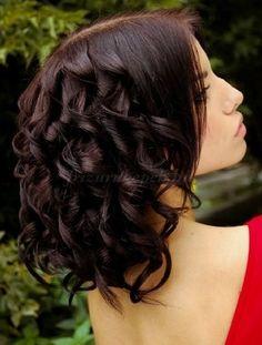 női frizurák hosszú hajból - kiengedett hullámos frizura