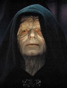 The Emperor Palpatine from Star Wars