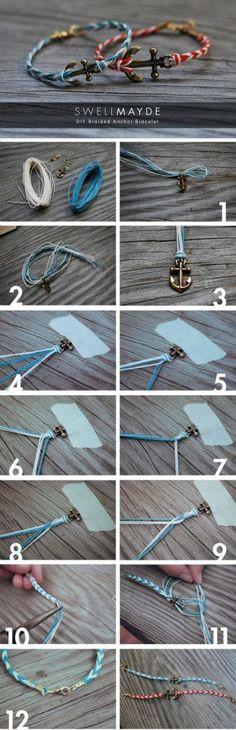 Bracelet Encre marine - Conseils et Tutos pour Filles