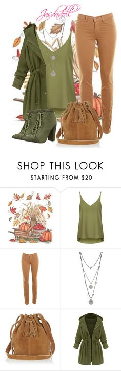 """""""Fall set 2"""" by jasmine1023 ❤ liked on Polyvore featuring Topshop, J Brand, Vince Camuto, Warehouse and Michael Antonio"""