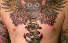 Owl Tattoos Design Meaning