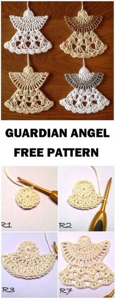 Crochet Angel Free Patterns &a |