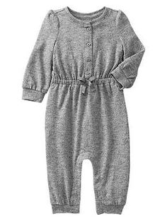 Marled knit one-piece, less than $20 #gapkids