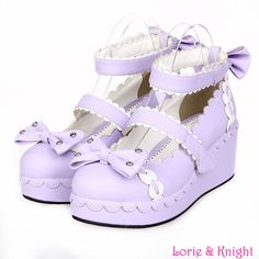 3f9053266964 Japanese Sweet Lolita Cosplay Shoes Princess Lace Trim School Girls Ankle  Strap Wedge Heel Shoes-in Women s Pumps from Shoes on Aliexpress.com