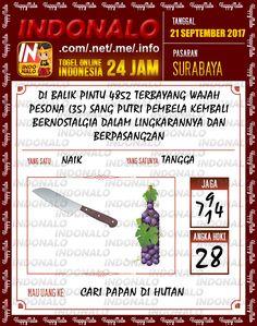 Shio 6D Togel Wap Online Indonalo Surabaya 21 September 2017