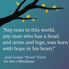 Go Set A Watchman Read in a Parallel Universe #quote #harperlee